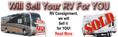 RV Consignment, Yuma Auto and RV Center will sell your RV for You