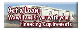Get a Loan, Yuma Auto and RV Sales Center is alwayys happy to assist you with purchasing your new RV.